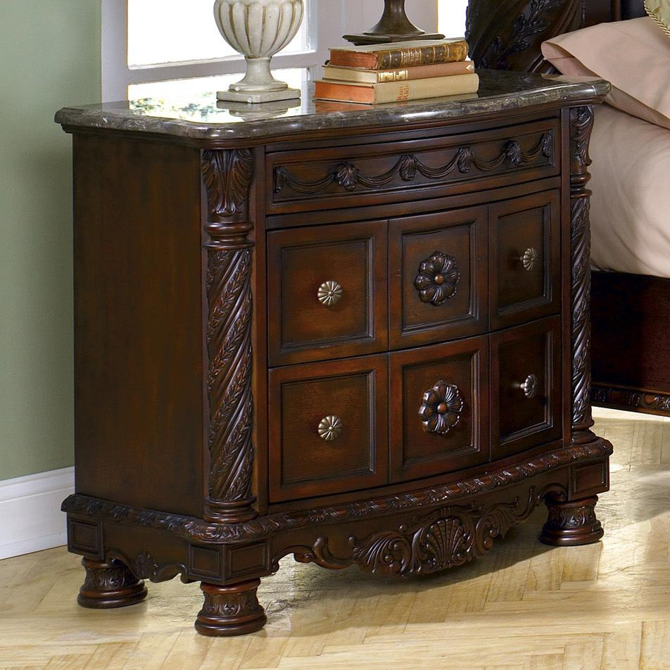 North Shore Dining Room: Millennium North Shore Night Stand With Half Turned Posts