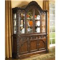 Millennium North Shore China Cabinet - Item Number: D553-81+80