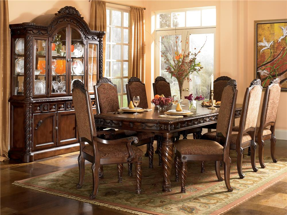 Millennium North Shore 9Pc Dining Room - Item Number: D553-35-02-02A-80-81