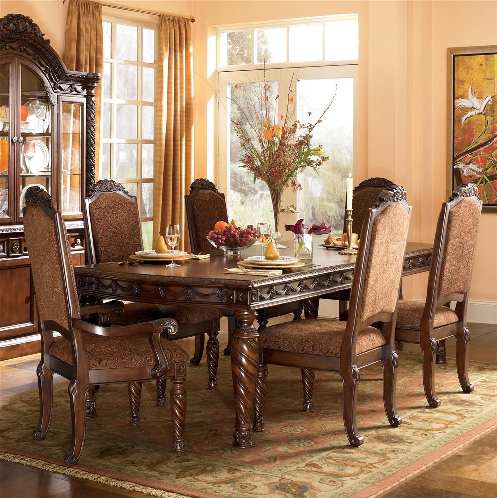 Millennium North Shore 7Pc Dining Room - Item Number: D553-35-02-02A