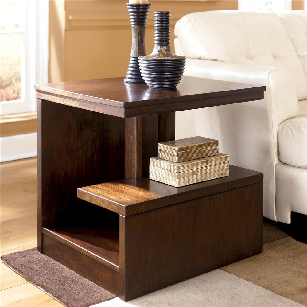 Signature Design By Ashley Callum Rectangular End Table   Item Number:  T670 3