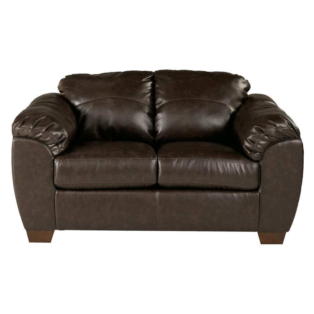 Millennium Franden DuraBlend - Cafe Upholstered Love Seat - Item Number: 9880035