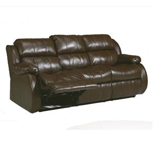 Millennium Mollifield DuraBlend® - Café Reclining Sofa w/ Drop Down Table
