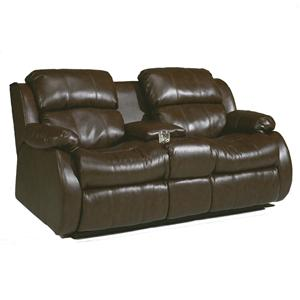 Sig Millennium by Ashley Furniture Mollifield DuraBlend® - Café Double Reclining Loveseat