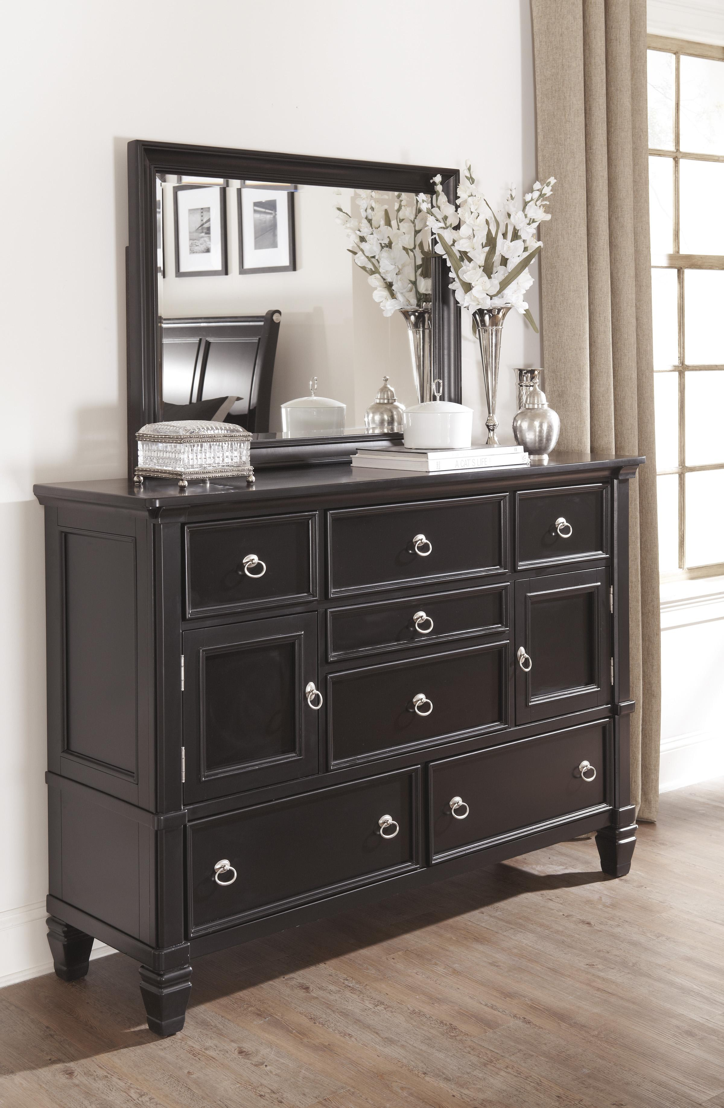 Millennium Greensburg Transitional Dresser with 2 Doors u0026 7 Drawers - Furniture Superstore - NM ...