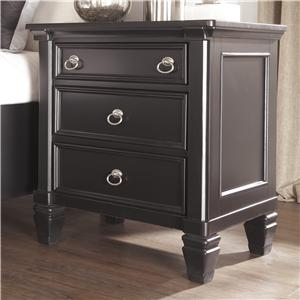 Millennium Greensburg Three Drawer Night Stand