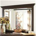 Millennium Hindell Park 7 Drawer Dresser & Beveled Mirror Set - B695-31+36