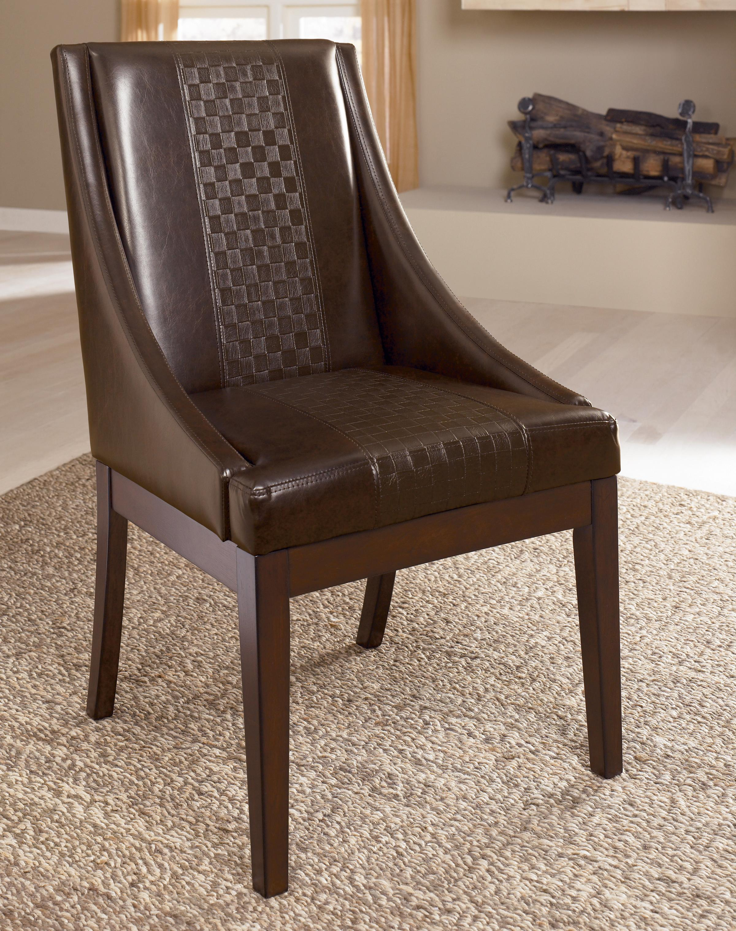Millennium Holloway Dining Upholstered Arm Chair - Item Number: D696-02