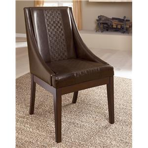 Sig Millennium by Ashley Furniture Holloway Dining Upholstered Arm Chair