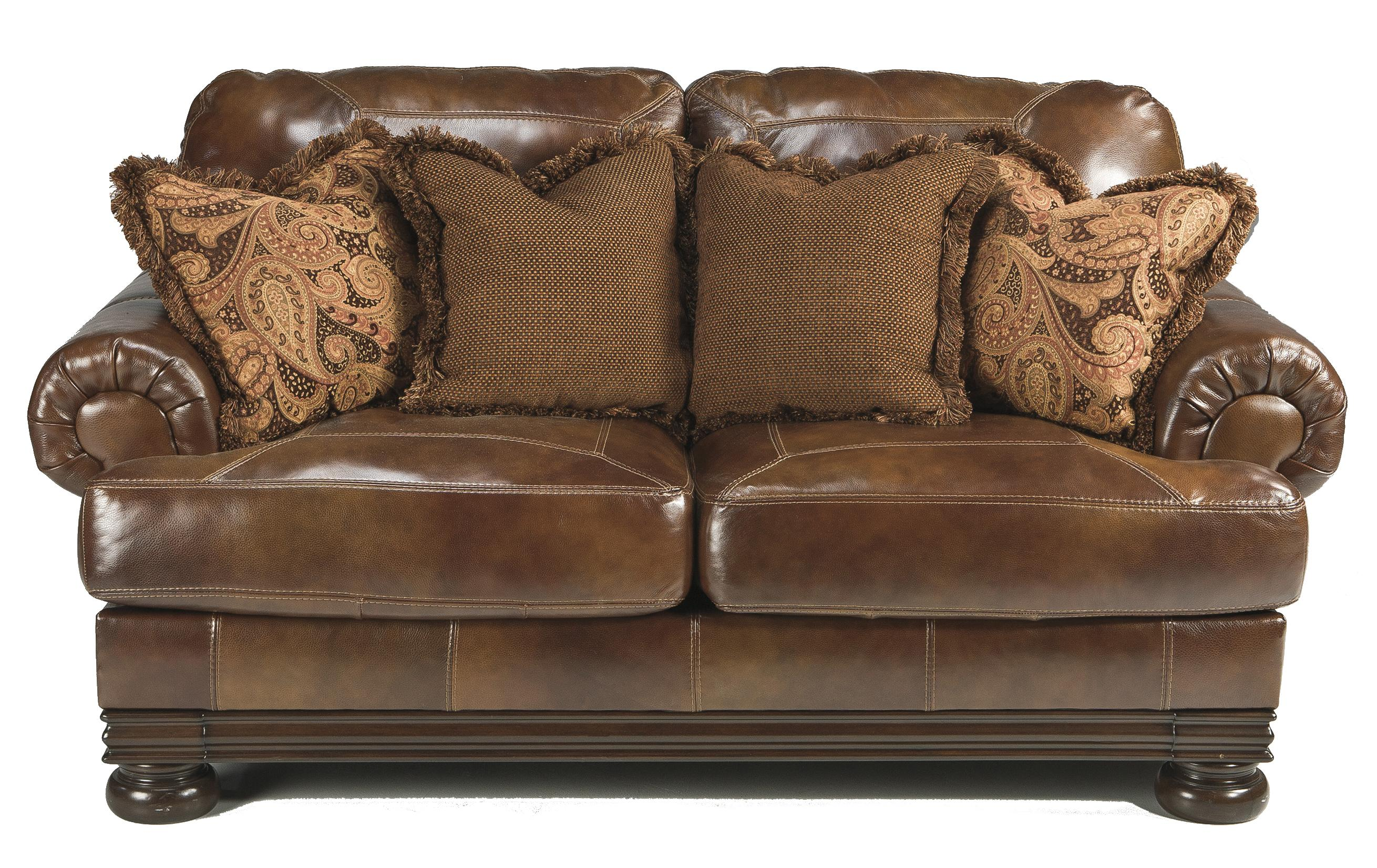 Signature Design by Ashley Hutcherson Traditional Loveseat - Item Number: 2110035
