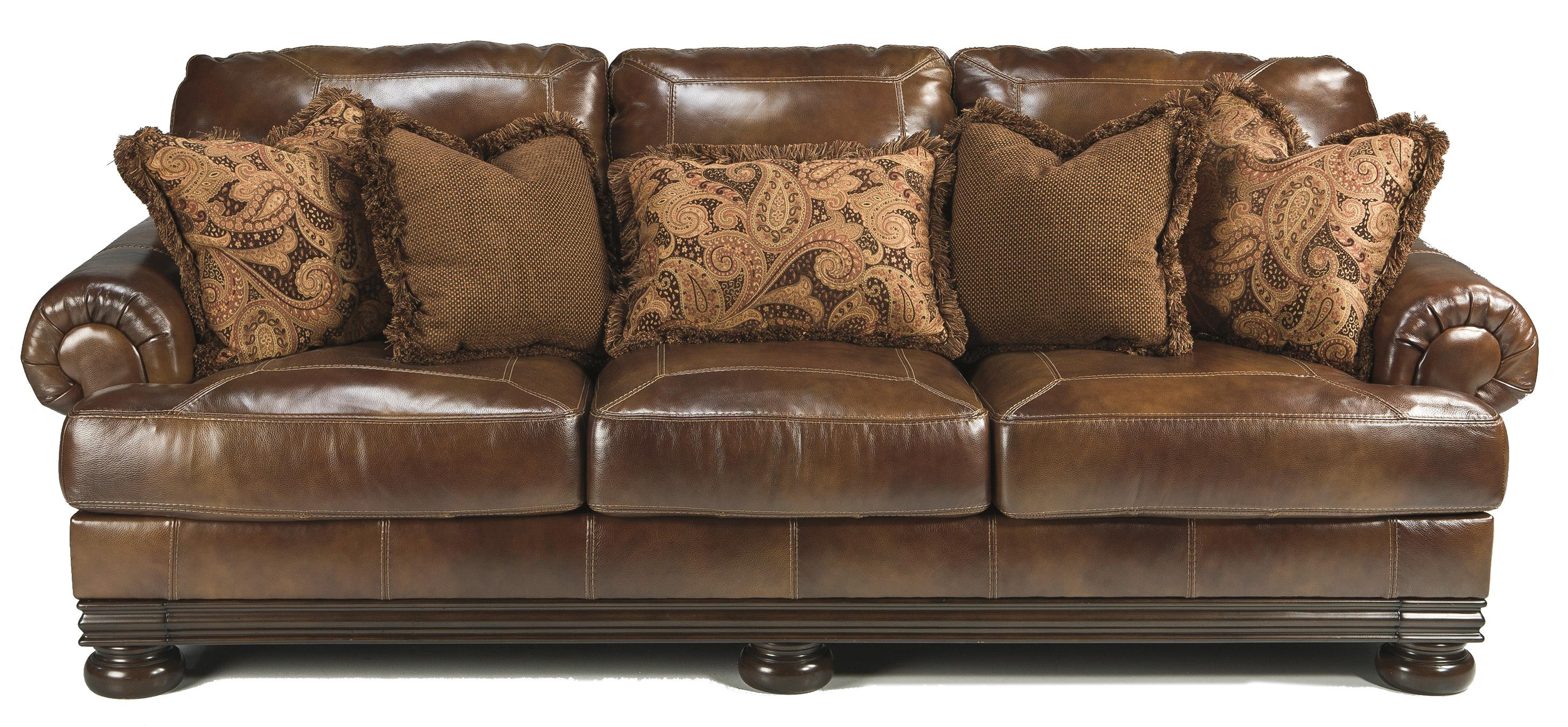 Signature Design by Ashley Hutcherson Traditional Sofa - Item Number: 2110038
