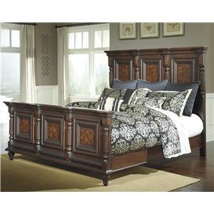 Millennium Key Town King Mansion Panel Bed