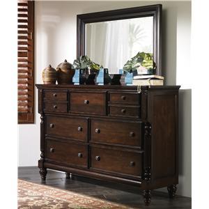 Genial Millennium Key Town Dresser U0026 Mirror Combo