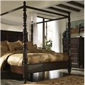 Millennium Key Town  King Poster/Canopy Bed - B668-50+62+72+99 - Shown with Chest