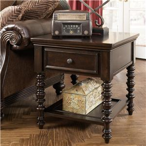 Millennium Key Town  Rectangular End Table
