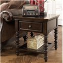 Millennium Key Town  Rectangular End Table - Item Number: T668-3