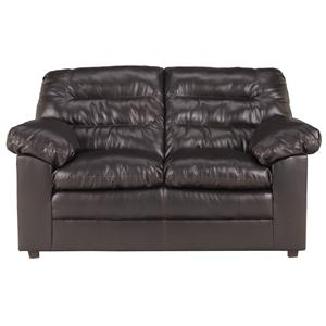 Millennium Knox DuraBlend - Coffee Loveseat