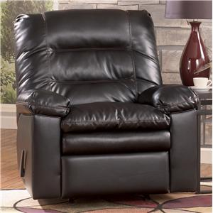 Millennium Knox DuraBlend - Coffee Rocker Recliner