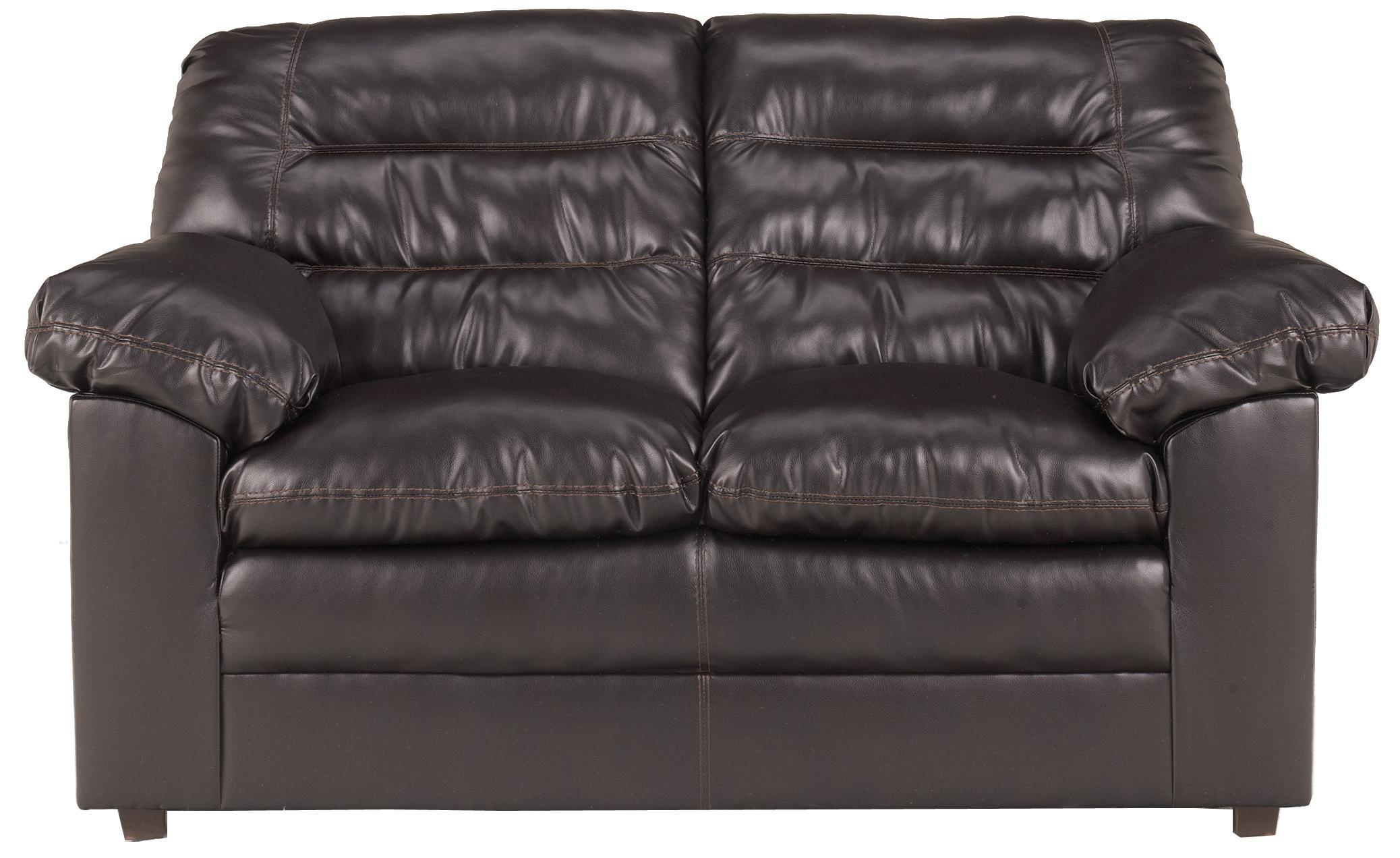 Millennium Knox DuraBlend - Coffee Loveseat - Item Number: 1320035