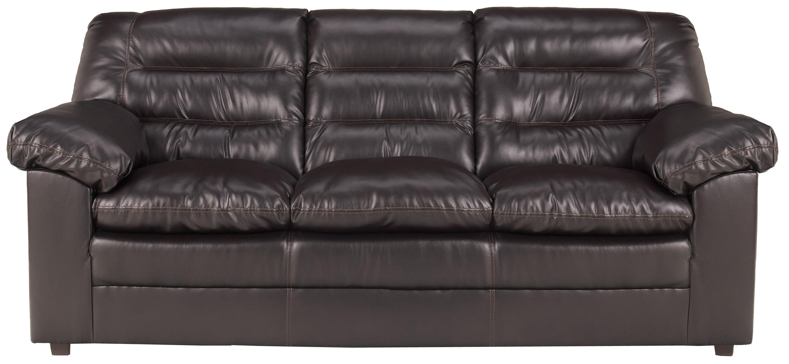 Millennium Knox DuraBlend - Coffee Sofa - Item Number: 1320038