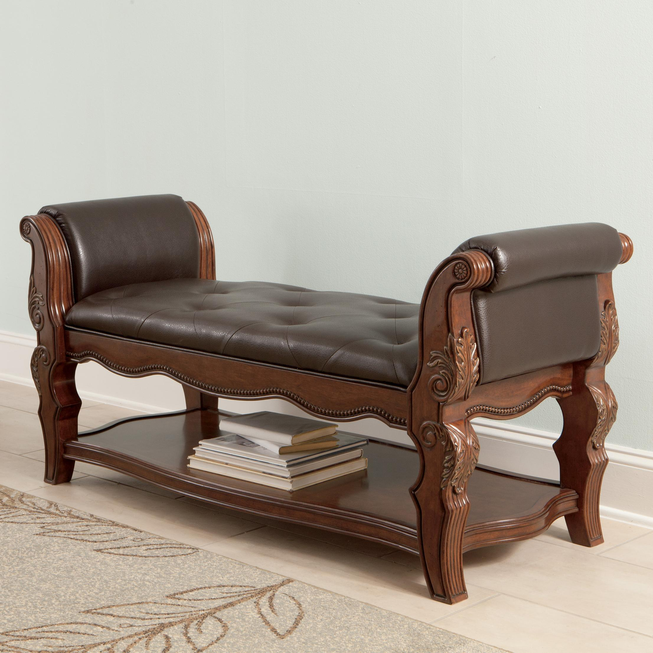 Millennium Ledelle Upholstered Bench - Item Number: B705-09
