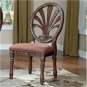 Millennium Ledelle Dining UPH Side Chair