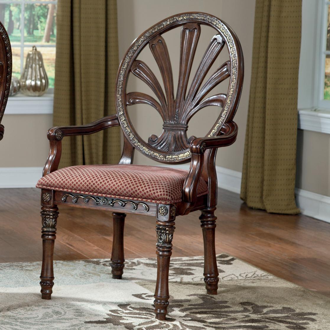 Millennium Ledelle Dining UPH Arm Chair - Item Number: D705-03A