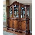 Millennium Ledelle Traditional Dining Room Buffet & China Cabinet Hutch - D705-80+81
