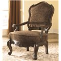 Millennium North Shore - Dark Brown Upholstered Chair - Item Number: 22603-60