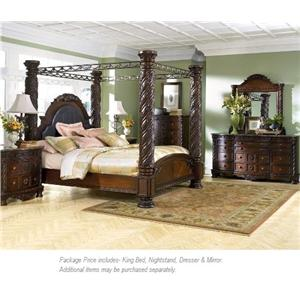 Millennium North Shore 4PC King Bedroom Group