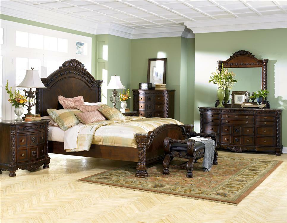 Millennium North Shore 4 Piece Bedroom Group - Item Number: B553 Q 4 Piece