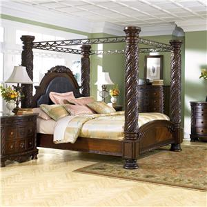 Millennium North Shore California King Canopy Bed