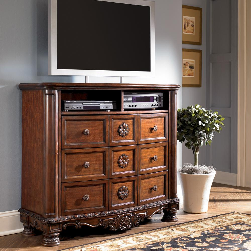 Millennium North Shore Traditional Media Chest Wayside Furniture Media Chests