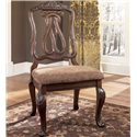 Millennium North Shore Carved Back Side Chair - D553-03
