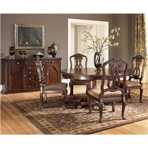 Millennium North Shore 5 Piece Table & Chair Set