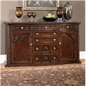 Millennium North Shore Traditional Server with Ornate Carved Details - D553-60