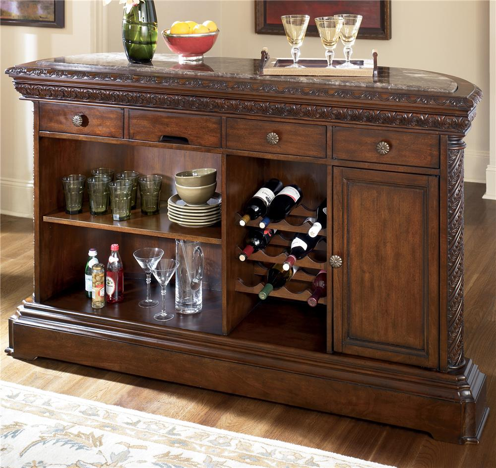 Millennium North Shore Traditional Demilune Bar With