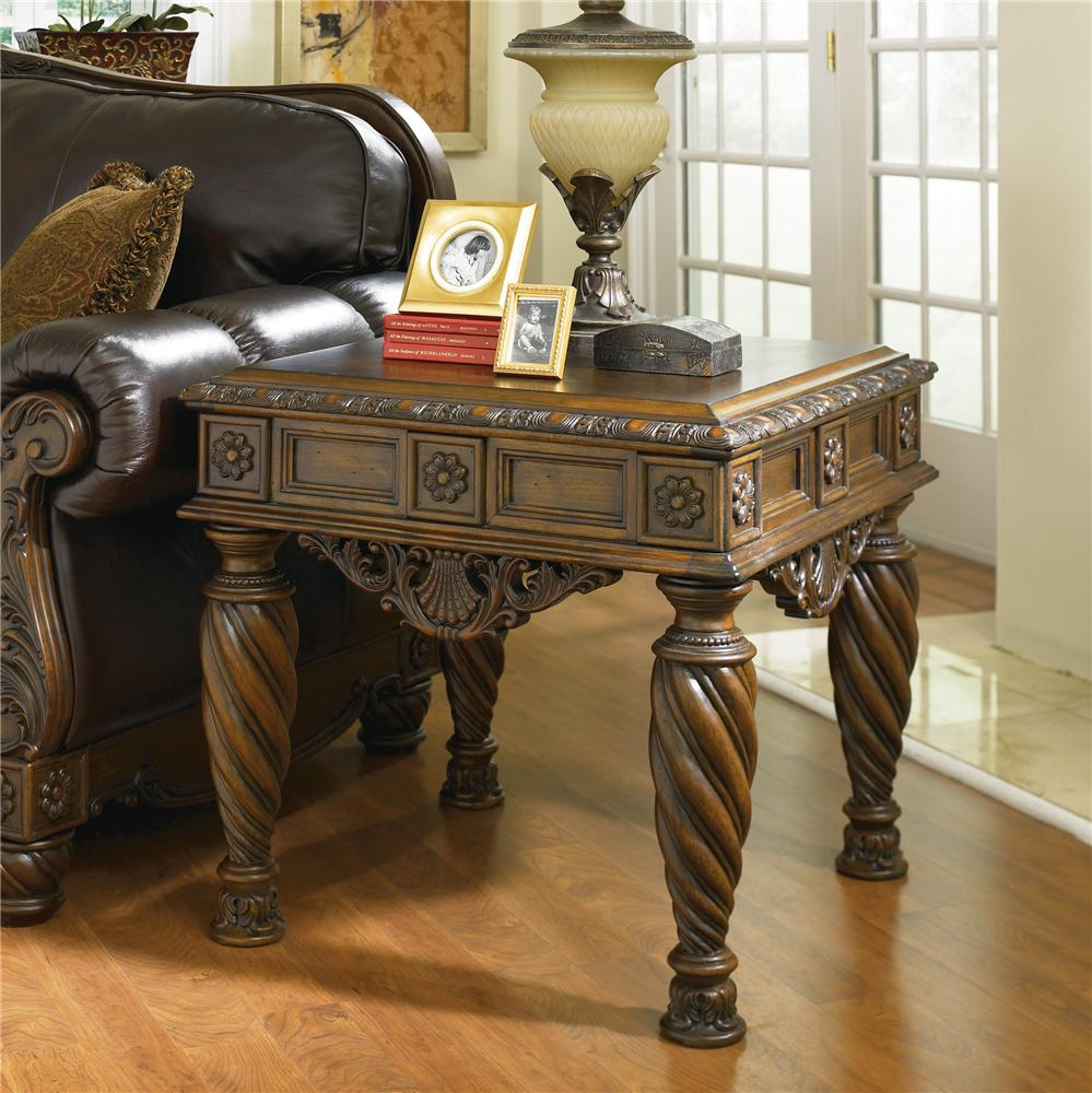 Delicieux Millennium North Shore Square End Table   Item Number: T963 2