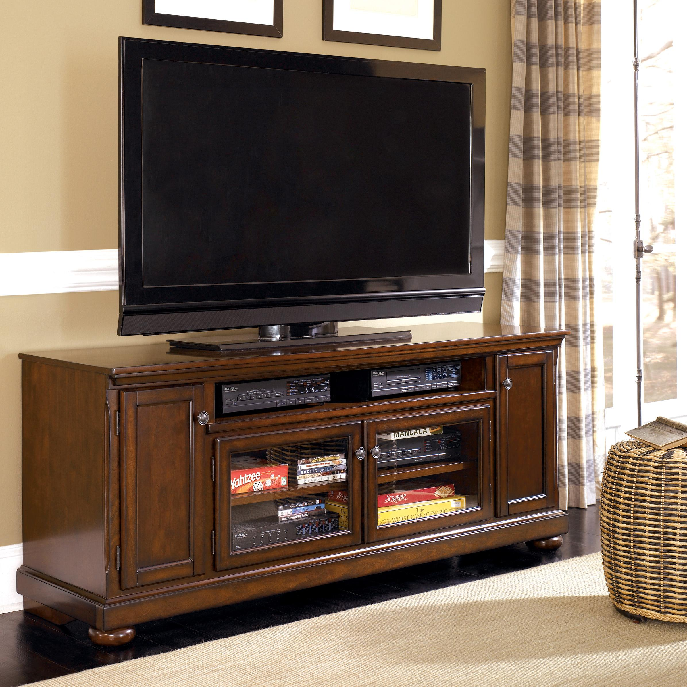 Millennium Porter Extra Large TV Stand - Item Number: W697-58