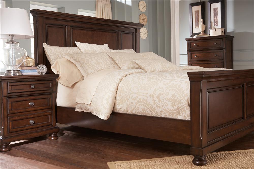 Ashley Furniture Porter King Panel Bed A1 Furniture