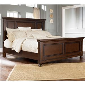 Ashley Furniture Porter House Queen Panel Bed