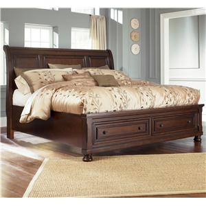 Ashley Furniture Porter House King Sleigh Bed