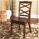 Ashley Furniture Porter House Side Chair - Item Number: D697-01