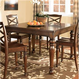 Ashley Furniture Porter House Counter Height Extension Table