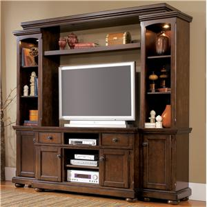 Ashley Furniture Porter House Entertainment Wall Unit