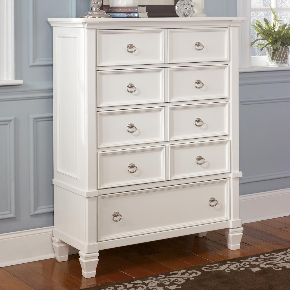 Millennium Prentice Five Drawer Dresser Royal Furniture