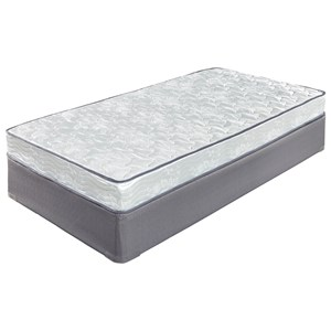 "Ashley Sleep Ashley Firm Full 6"" Firm Innerspring Mattress Set"