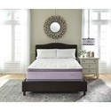 Ashley Sleep Lilac Anniversary Pillow Top Twin Pillow Top Mattress Set - Item Number: M98811+M81X12