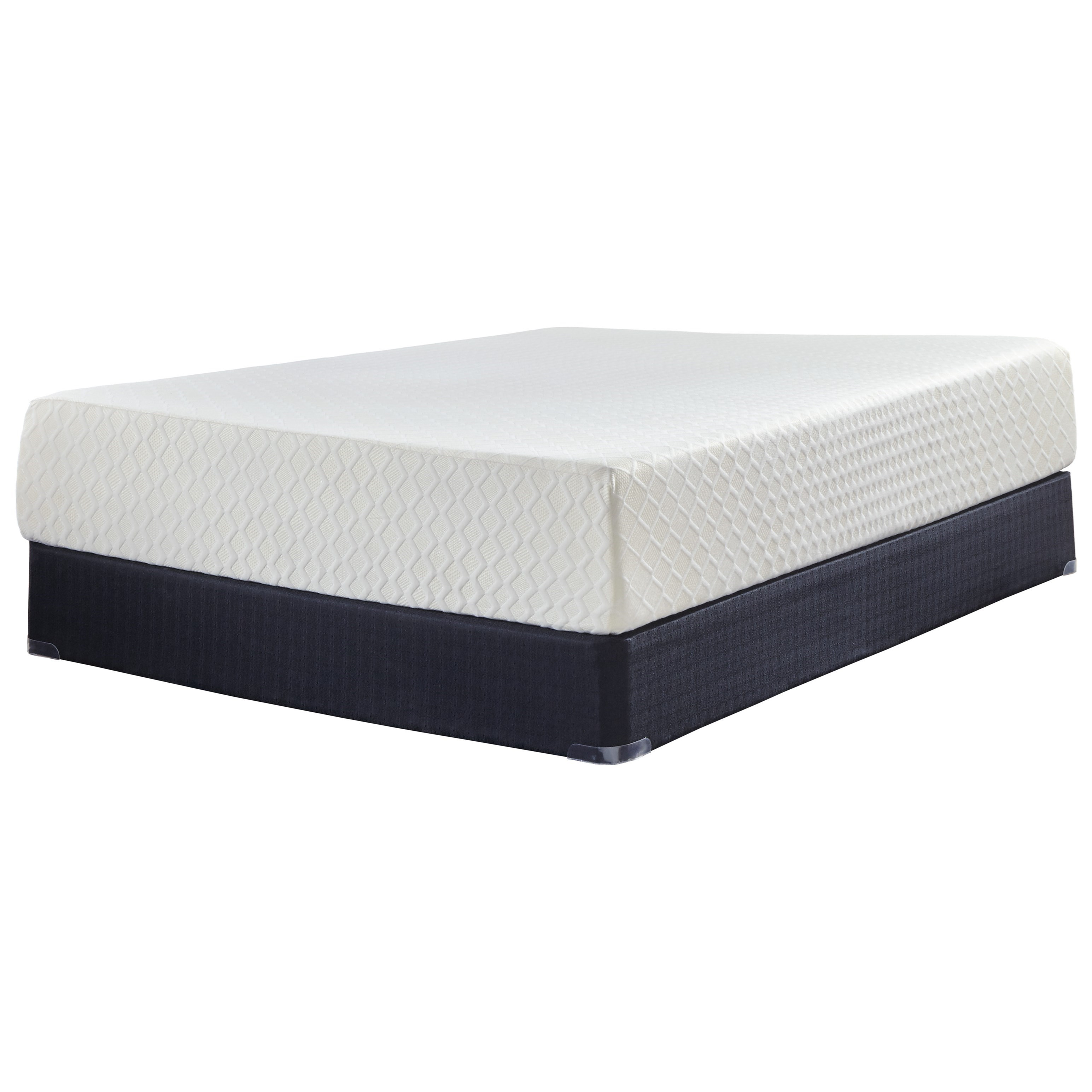 "Sierra Sleep M727 Chime 12 Queen 12"" Memory Foam Mattress Set - Item Number: M72731+M80X32"