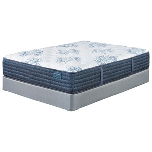 """Sierra Sleep Mount Dana Firm Twin 15 1/2"""" Firm Pocketed Coil Mattress Set"""
